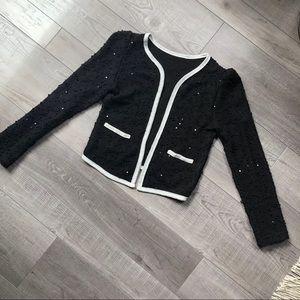 Jackets & Blazers - Sparkly Tweed Style Jacket Small